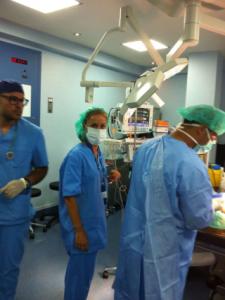 Dr. Monsalve y su equipo